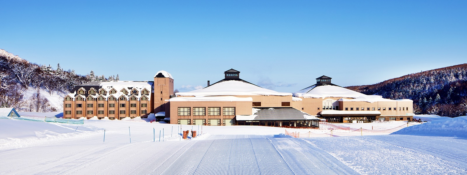Kiroro, a famous ski resort From the movie Faraday